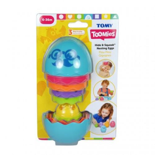 Hide & Squeak Nesting Eggs