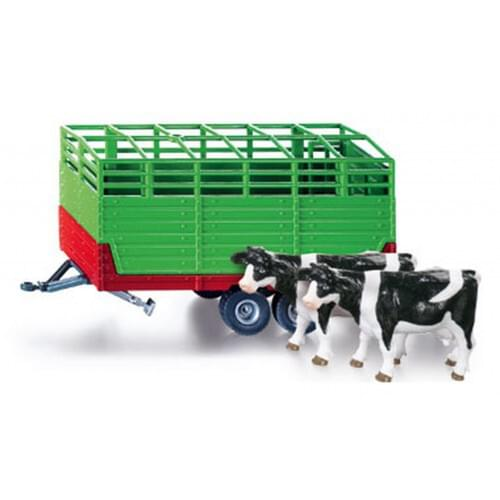 Siku Livestock Trailer with Two Cows (2875)