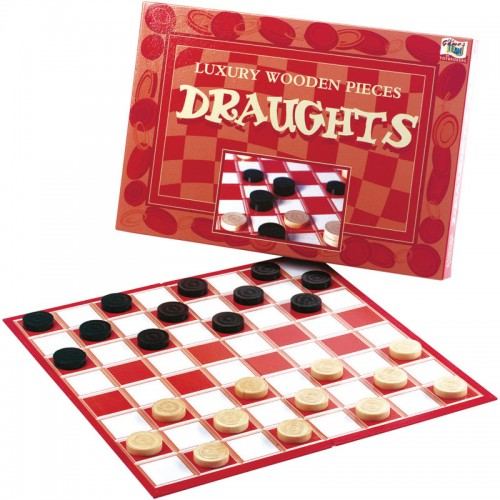 Luxury Draughts Board Game
