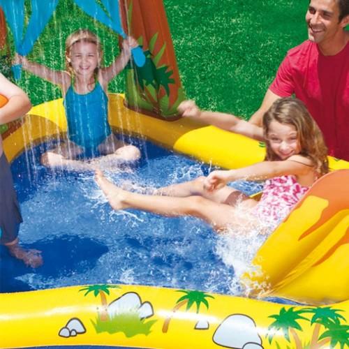 Intex Dinosaur Inflatable Play Center