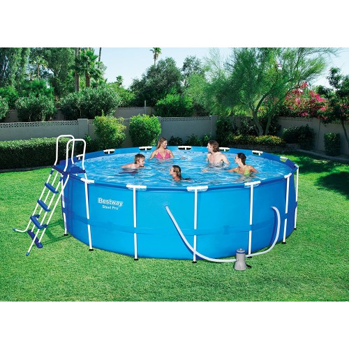 15FT x 48'' Steel Pro Max Round Pool Set