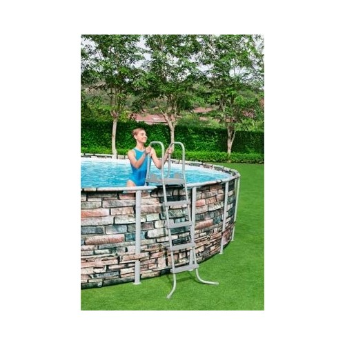 Power Steel 5.49m x 1.32m Pool Set