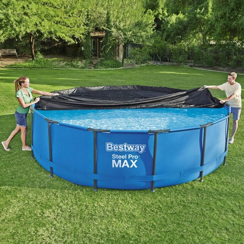 Round frame pool cover 15ft Bestway