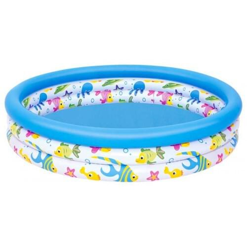 Bestway Ocean Life Summer Garden Childrens Toddlers Swimming Paddling Pool