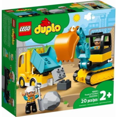 DUPLO 10931 Truck & Tracked Excavator