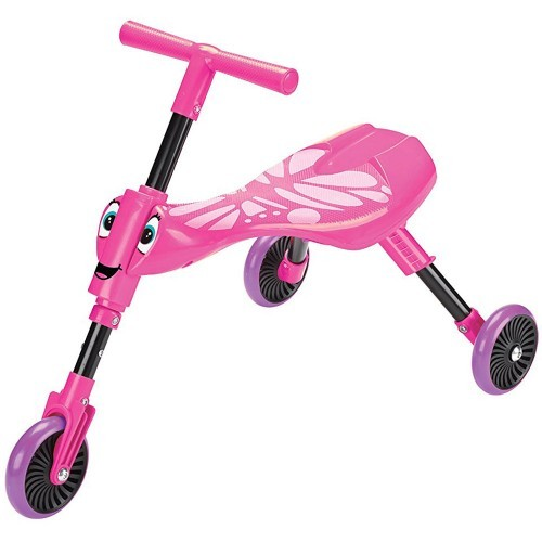 ScuttleBug Butterfly - Pink Ride On