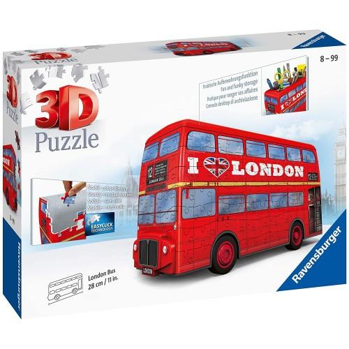 Ravensburger London Bus 216 piece 3D Jigsaw Puzzle