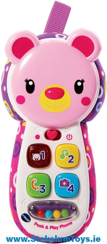 Peek & Play Phone pink