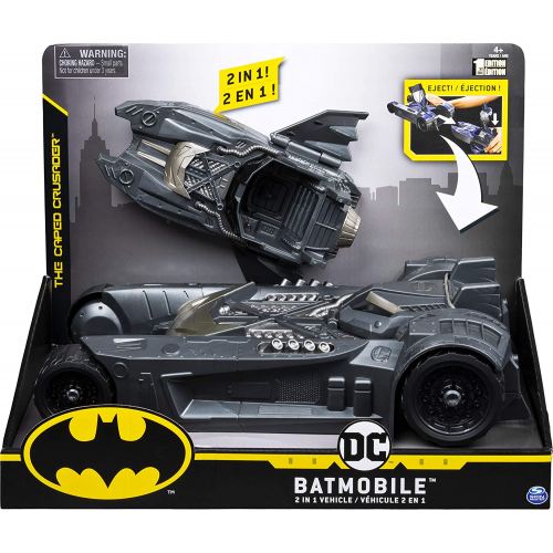 Batman Batmobile and Batboat - 2-in-1 Transforming Vehicle