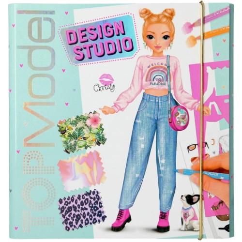 Create Your TOPModel Design Studio Colouring Book