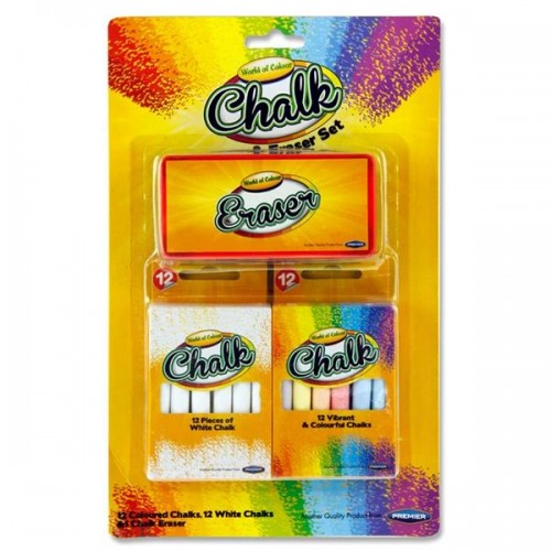 Chalk And Eraser Set by