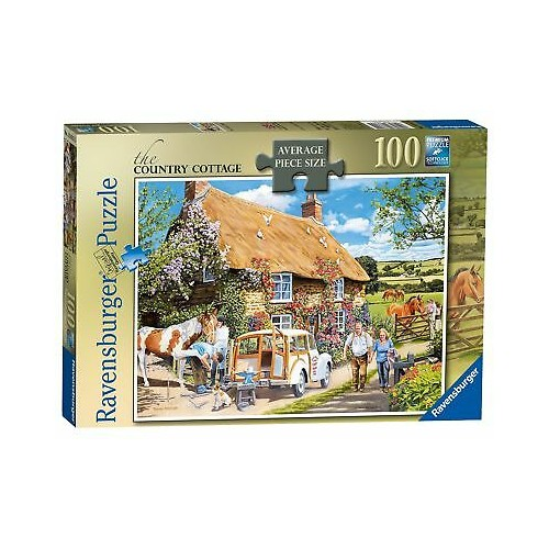 The Country Cottage, Large 100pc