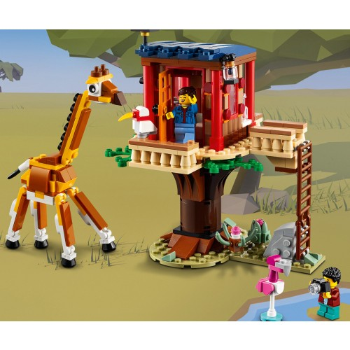 LEGO Safari Wildlife Treehouse