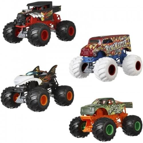 Mattel 1:24 scale Monster Truck model FYJ83 assorted