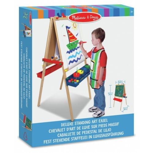 Melissa & Doug Deluxe Standing Art Easel child Painting