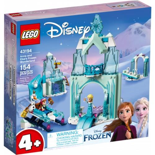 LEGO Anna and Elsa's Frozen Wonderland DISNEY PRINCESS