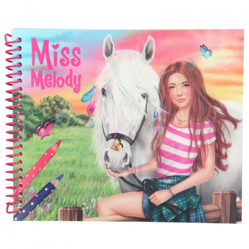 Depesche Miss Melody Dress Up Your Horse Colouring Book