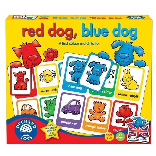 RED DOG,BLUE DOG
