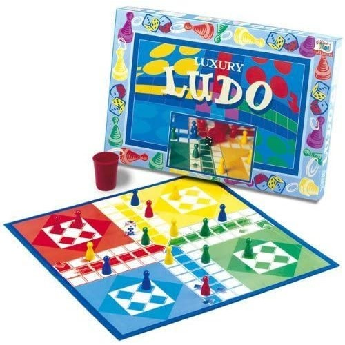Luxury Ludo Classic family board game