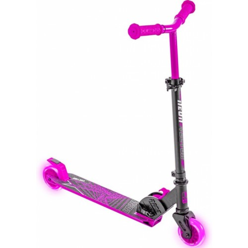 Neon Vector Pink Folding Scooter