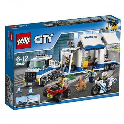 LEGO City Police Mobile Command Center 374 Pieces Age 6yrs 60139