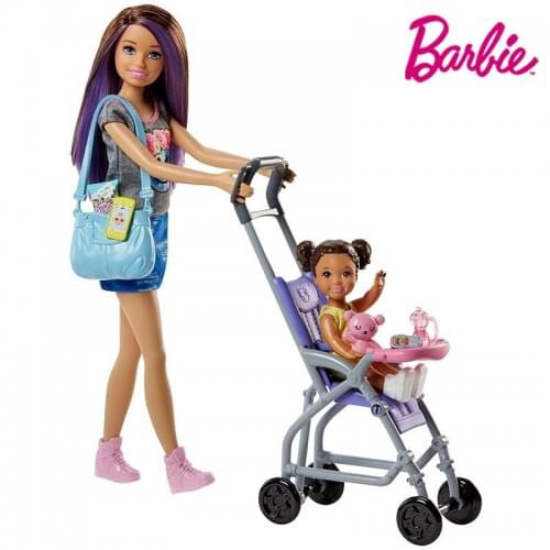 Barbie Skipper Babysitters Inc Doll and Playset FHY97