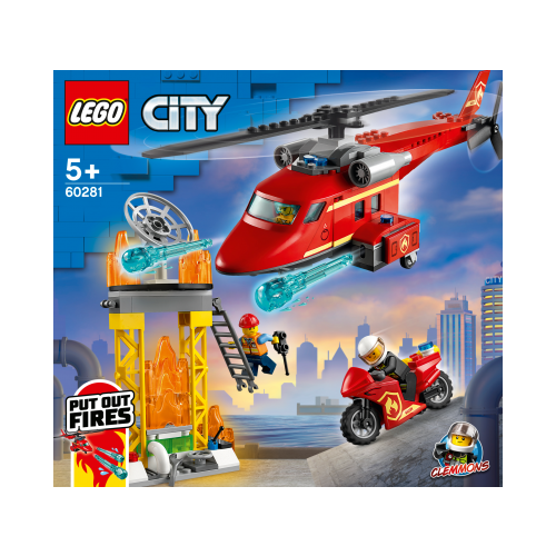 Lego Fire Rescue Helicopter