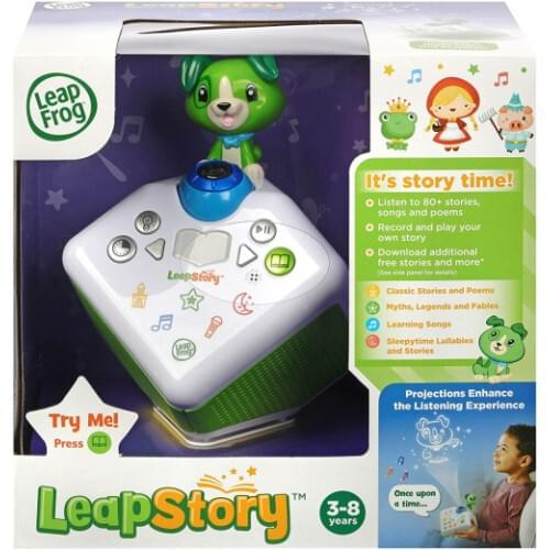 LeapFrog Leapstory Listen and Visualise Musical Baby Toy, Toddler Toy with Sounds