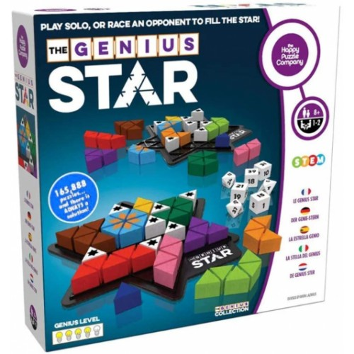 The Happy Puzzle Company The Genius Star - STEM puzzle game
