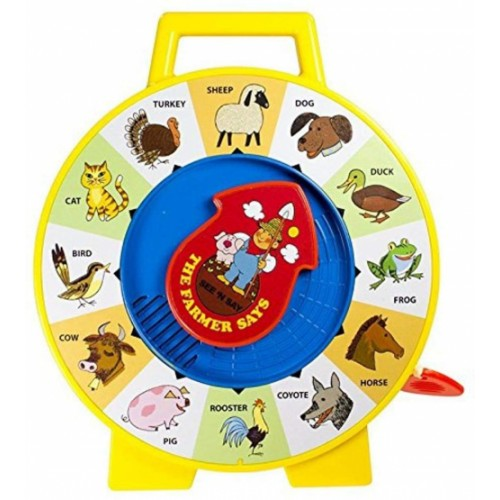 Fisher Price Classics  See 'n Say Farmer Says Toy, Educational and Interactive Toy