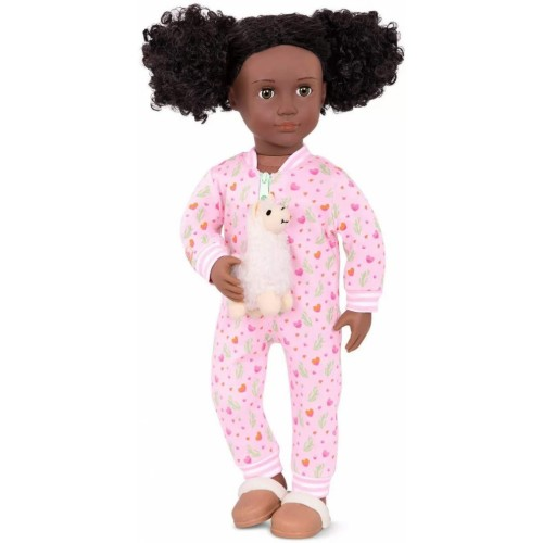 Our Generation PJ Outfit with Llama Plush - Llama Llullabies