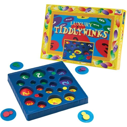Luxury Tiddly Winks Traditional Game
