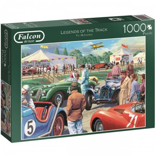 Falcon de luxe 11158 Legends of The Track Jigsaw Puzzle (1000-Piece)