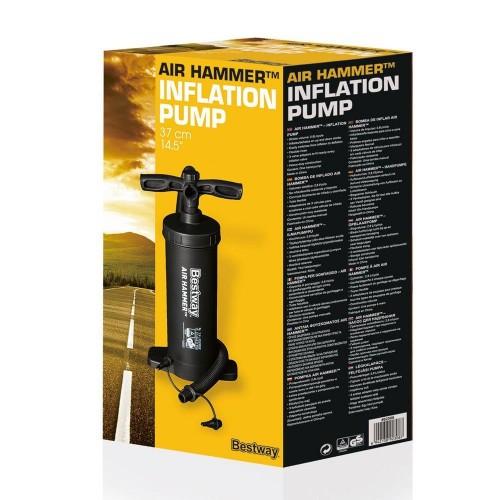 Bestway Inflation Pump Air Hammer 14.5  Black POOL PUMP