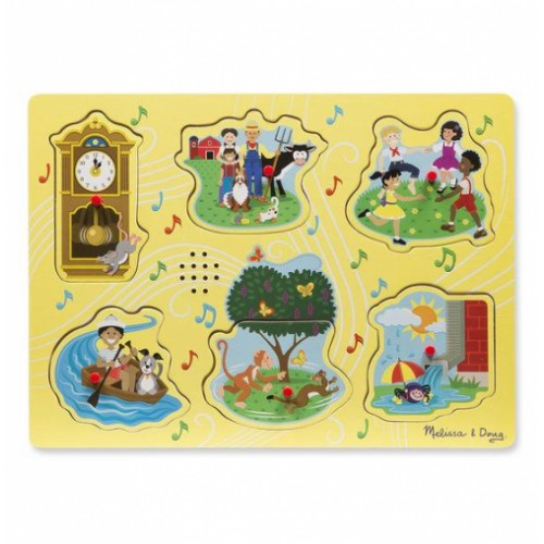 Sing-Along Nursery Rhymes Sound Puzzle Item