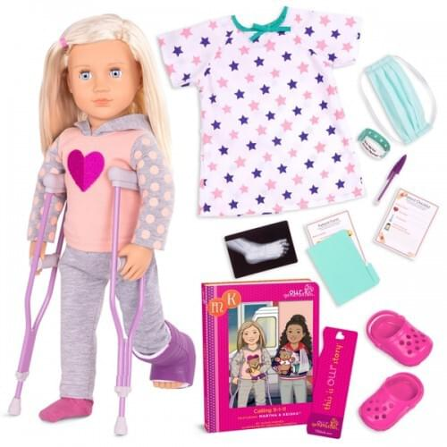 Our Generation Martha Doll Calling 9-1-1
