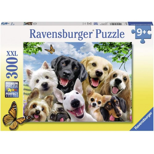 Ravensburger Selfies Delighted Dogs 300 Jigsaw Puzzle with Extra Large Pieces
