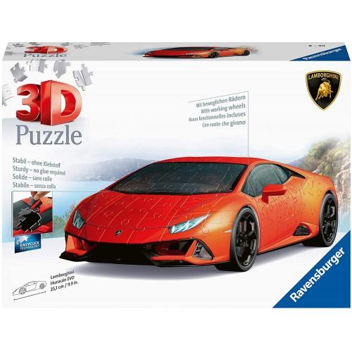 Ravensburger Lamborghini Huracan 108 Piece 3D Jigsaw Puzzle