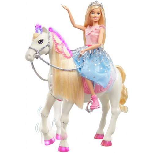 Barbie  Modern Princess Prance & Shimmer Horse