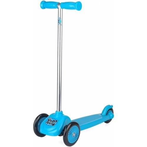 Xootz Scooter with 3 Wheels, Tri-Scooter for Kids, Blue