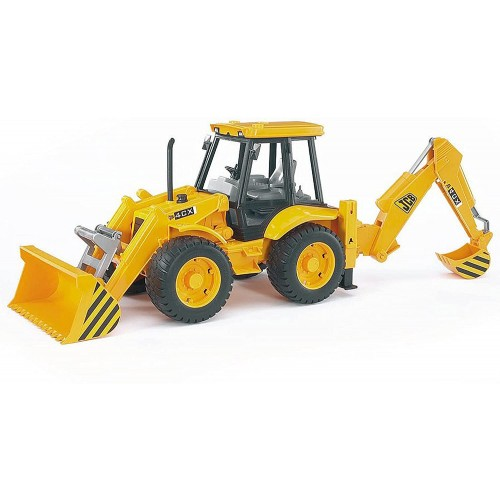 Bruder JCB 4CX Tractor With Front Loader And Digger