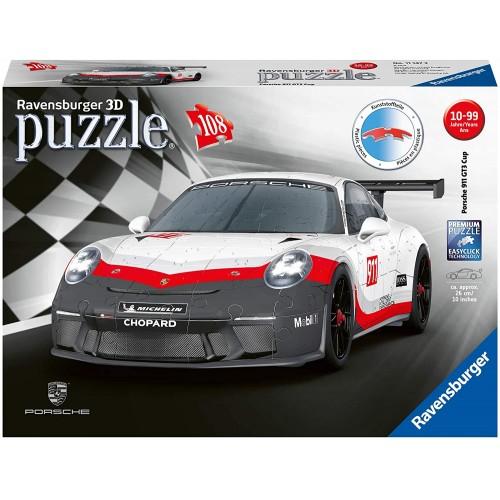Ravensburger Porsche GT3 Cup 108 piece 3D Jigsaw Puzzle