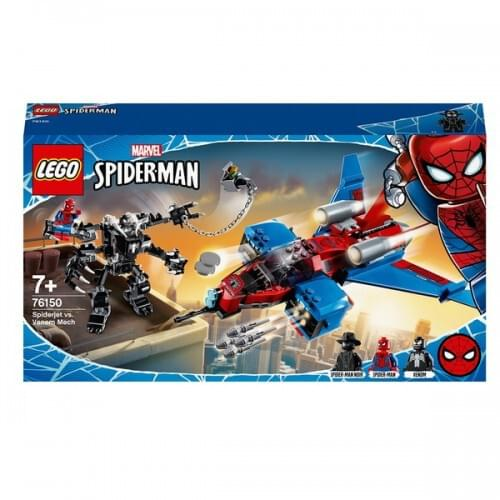 LEGO 76150 Marvel Spider-Man Jet vs. Venom Mech Playset