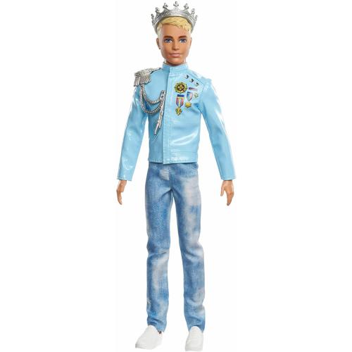 Barbie Princess Adventure Prince Ken Doll (12-inch)