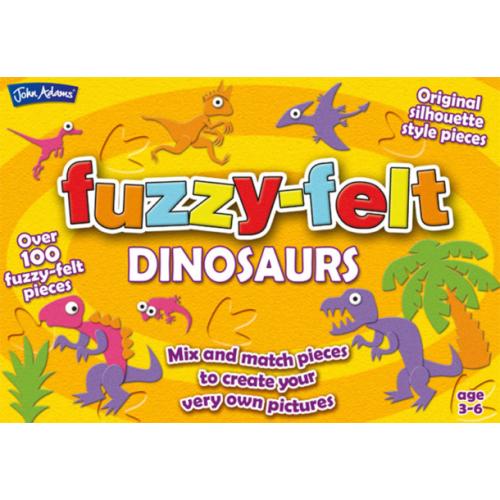 Fuzzy-Felt Series 1 Dinosaurs