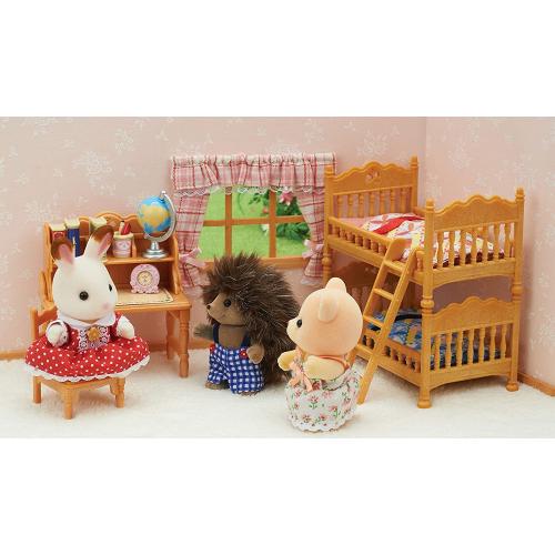 Sylvanian Families Children's Bedroom Set, Multicolor