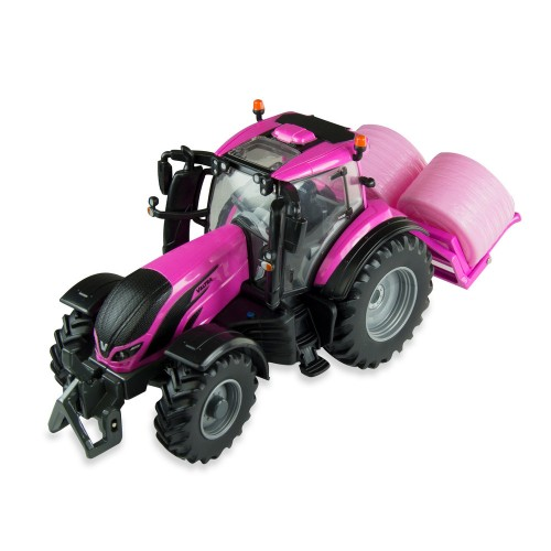 TOMY Britains tractor Pink Valtra