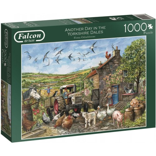 Falcon de luxe Another Day in The Dales Jigsaw Puzzle (1000-Piece)