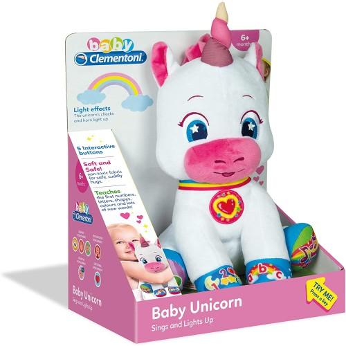 Baby Unicorn Interactive Plush