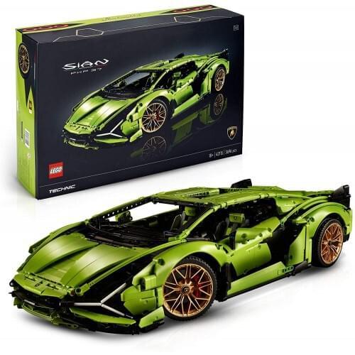 LEGO 42115 Technic Lamborghini Sin FKP 37 Race Car, Advanced Building Set for Adults, Exclusive Collectible Model